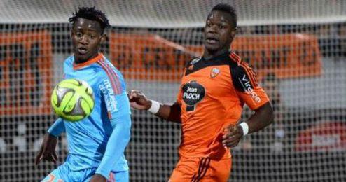 Olympique no pudo superar al Lorient