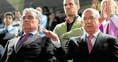 Biel Cerdá, a la izquierda, y Serra Ferrer tienen varias demandas interpuestas por el pacto que firmaron.