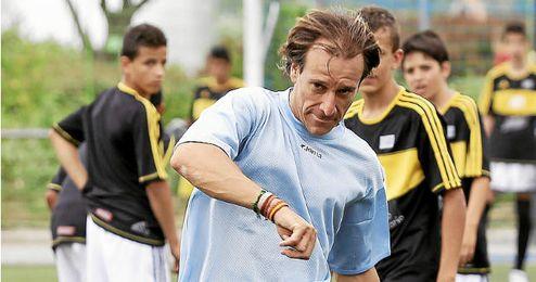 Alfonso trabaja ahora para el Mallorca.