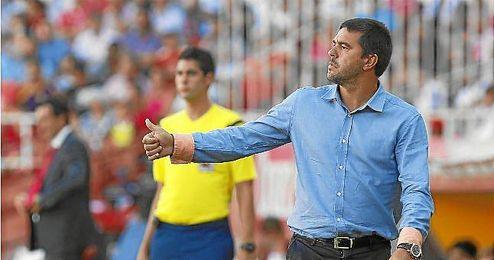 Cosmin Contra. Partido de la Liga BBVA disputado entre el Sevilla y el Getafe