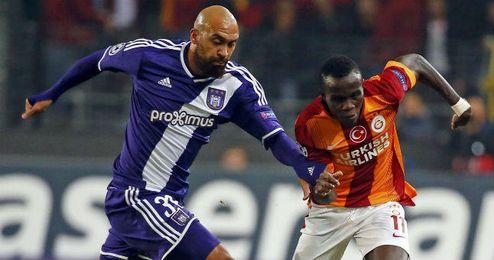 Lance del Anderlecht-Galatasaray disputado el pasado 26 de noviembre.