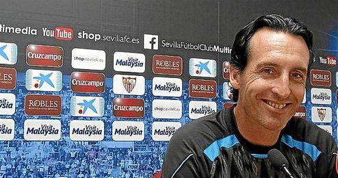 Unai Emery confesó en una entrevista en Rusia que el objetivo es llegar a la Champions.