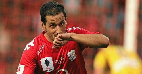 El jugador del Adelaida United, Sergio Cirio.