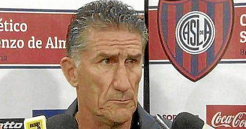 El ´patón´ Bauza llevó a San Lorenzo hasta la gloria en la Copa Libertadores.