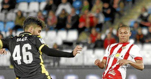 Ceballos habló una vez finalizada la eliminatoria en Almería.