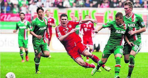 Pierre-Emile Højbjerg, mediocentro danés de 19 años que milita en el Bayern Munich.