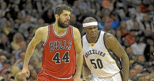 Mirotic alcanzó los 27 puntos en el Grizzlies-Bulls de la pasada noche.