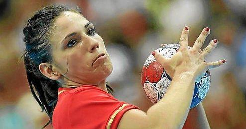 Carmen Martín, jugadora española de balonmano.