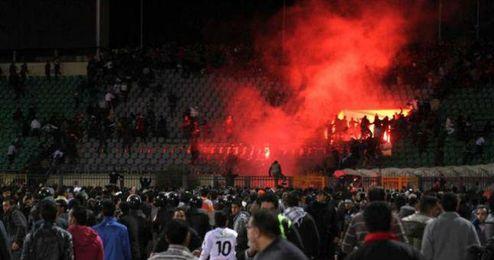 La violencia en los estadios egipcios se ha radicalizado
