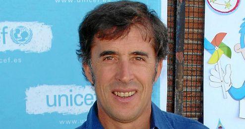Pedro Delgado en una intervención con Televisión Española.