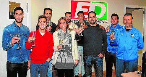 La redacción de ESTADIO Deportivo tuvo el placer de recibir a muchos nombres propios del fútbol sevillano en este año que hoy acaba.
