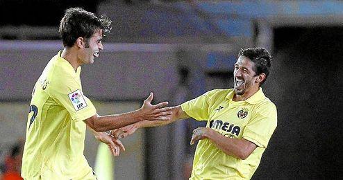 Pereira en su etapa en el Villarreal.