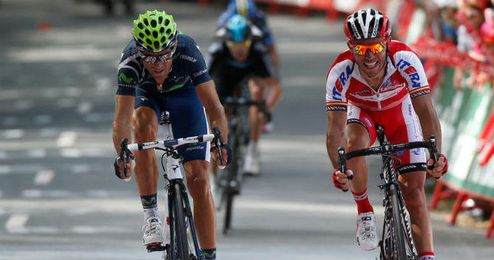 Valverde y Purito Rodríguez, dos españoles en busca de la victoria en los Emiratos Árabes.