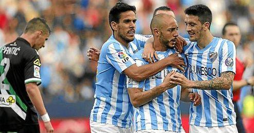 Amrabat marcó un golazo ante el Córdoba pero no lo celebró.