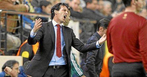 Emery se mostró contrariado con el empate en Granada.