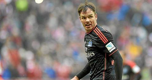 Heiko Westermann llega libre tras acabar contrato con el Hamburgo.
