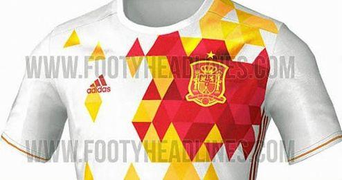 b2b8c03ca3e23 Se filtra la segunda equipación de España para la Eurocopa - Estadio ...