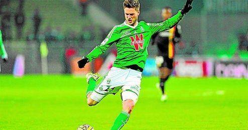 Ricky van Wolfswinkel (Woudenberg, 27-01-1989) jugó cedido el curso pasado en el Saint-Étienne.