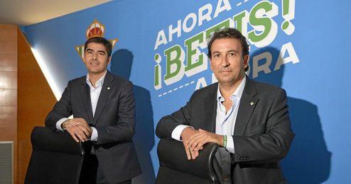 López Catalán y Haro presentaron su nuevo proyecto.