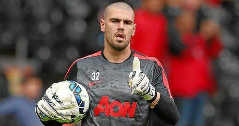 Valdés podría reconciliarse con Van Gaal en las próximas semanas.
