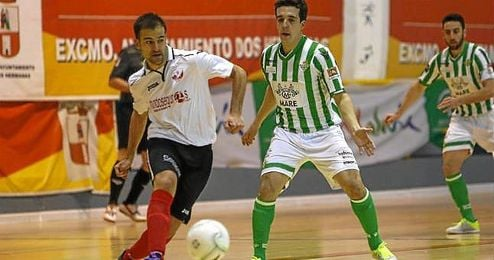 Imagen de un partido entre el Real Betis FSN y el Mundoseguros Triana de la pasada temporada.