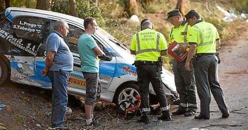Imagen del coche que arrolló a una veintena de personas, siete de ellas han fallecido.