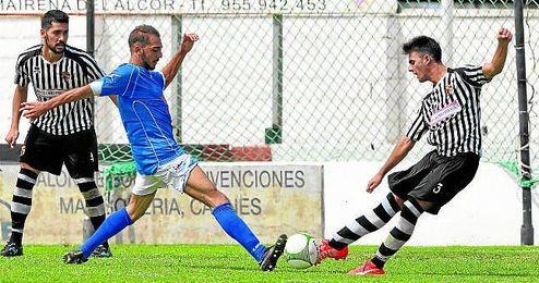 El San José dio la sorpresa en el Nuevo San Bartolomé al golear al Mairena por cero goles a cuatro.