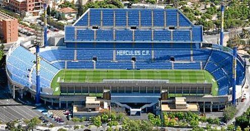 El estadio Rico P�rez acoger� el partido.