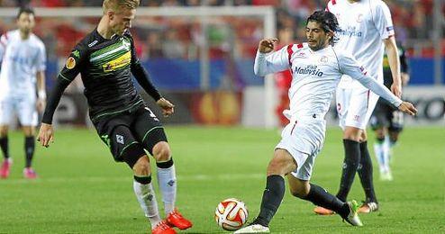La temporada pasada, los sevillistas eliminaron en los dieciseisavos de final de la Europa League al propio Borussia M�nchengladbach.