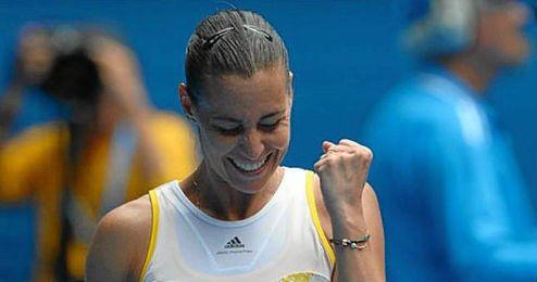 La italiana ha conseguido a sus 33 a�os su primer t�tulo de Grand Slam.