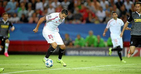 Vitolo cuaj� una gran actuaci�n y provoc� dos penaltis.