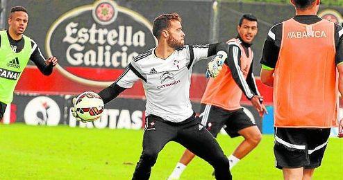 Sergio Álvarez, portero del Celta de Vigo, próximo rival del Sevilla Fútbol Club.