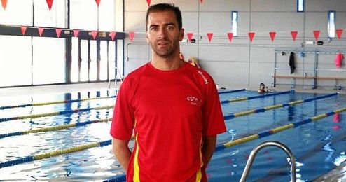 El paratriatleta español Daniel Molina.