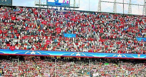 El Sánchez Pizjuán, con ambiente de gala el martes, se ha convertido en una plaza europea inexpugnable.