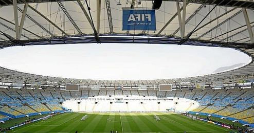 Estadio Maracaná, donde se celebró la final del Mundial de Brasil.