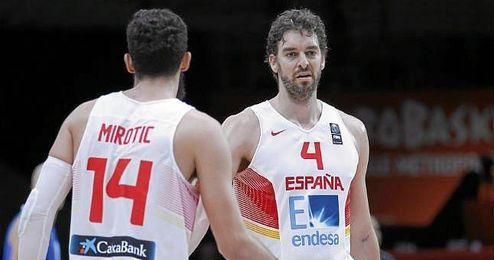 Ambos jugadores son compa�eros de vestuario en los Bulls.