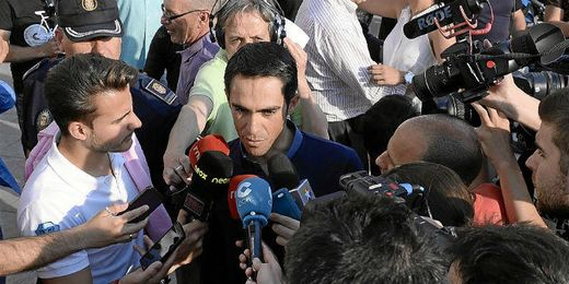 Alberto Contador pone fecha a su retirada.