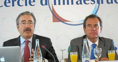 El director general de Telefónica en Cataluña hoy una conferencia en la Fundación Cercle d´Infraestructures.