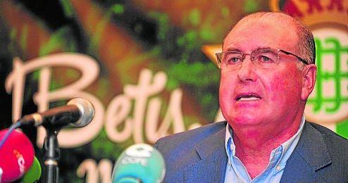 Manolo Castaño, durante la presentación de la candidatura de ´Mucho más que un sentimiento´.