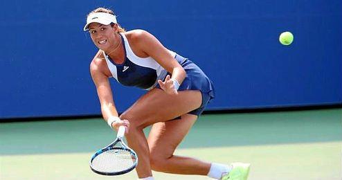 La jugadora de Caracas se meti� entre las ocho mejores de un torneo por quinta vez en la temporada, y ahora se medir� a la suiza Belinda Bencic.