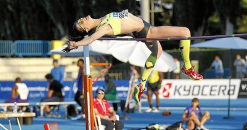 Beitia es una de las mejores atletas del panorama nacional.