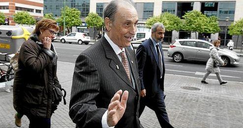 El expresidente y exconsejero delegado del Real Betis, Manuel Ruiz de Lopera.
