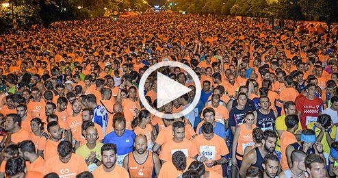 M�s de 21.000 espectadores se agolparon por las calles de Sevilla.