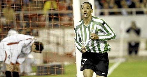 Oliveira, autor de un gol en un derbi contra el Sevilla en la 2008/2009.