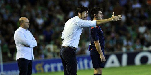 Víctor, técnico del Deportivo.