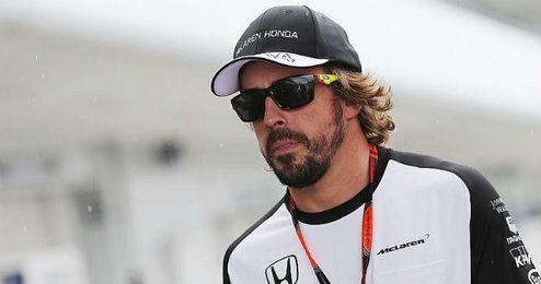Fernando Alonso acab� contento en Suzuka.