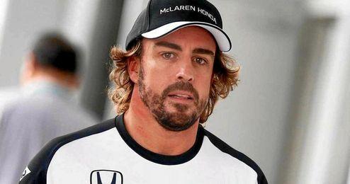 Fernando Alonso ha querido rebajar la tensión.