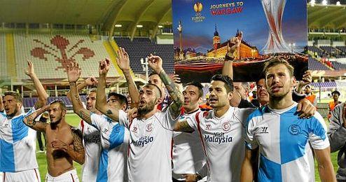 La �ltima visita a Italia del Sevilla fue a Florencia, en la semifinales de la Europa League de la pasada campa�a.