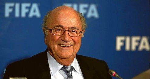 Blatter, presidente de la FIFA, en una imagen de archivo.