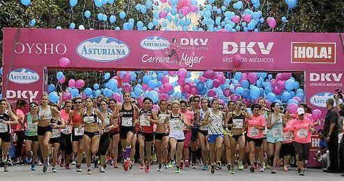 Imagen de la Carrera de la Mujer el pasado año.